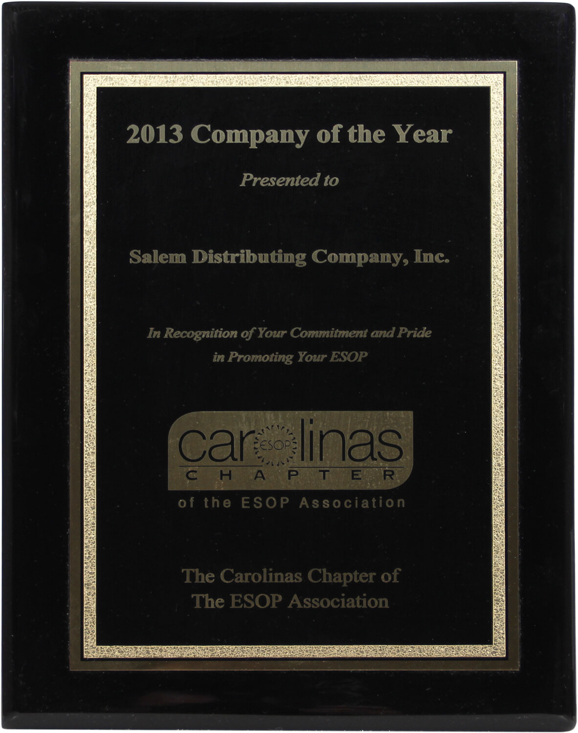 2013 Company of the year