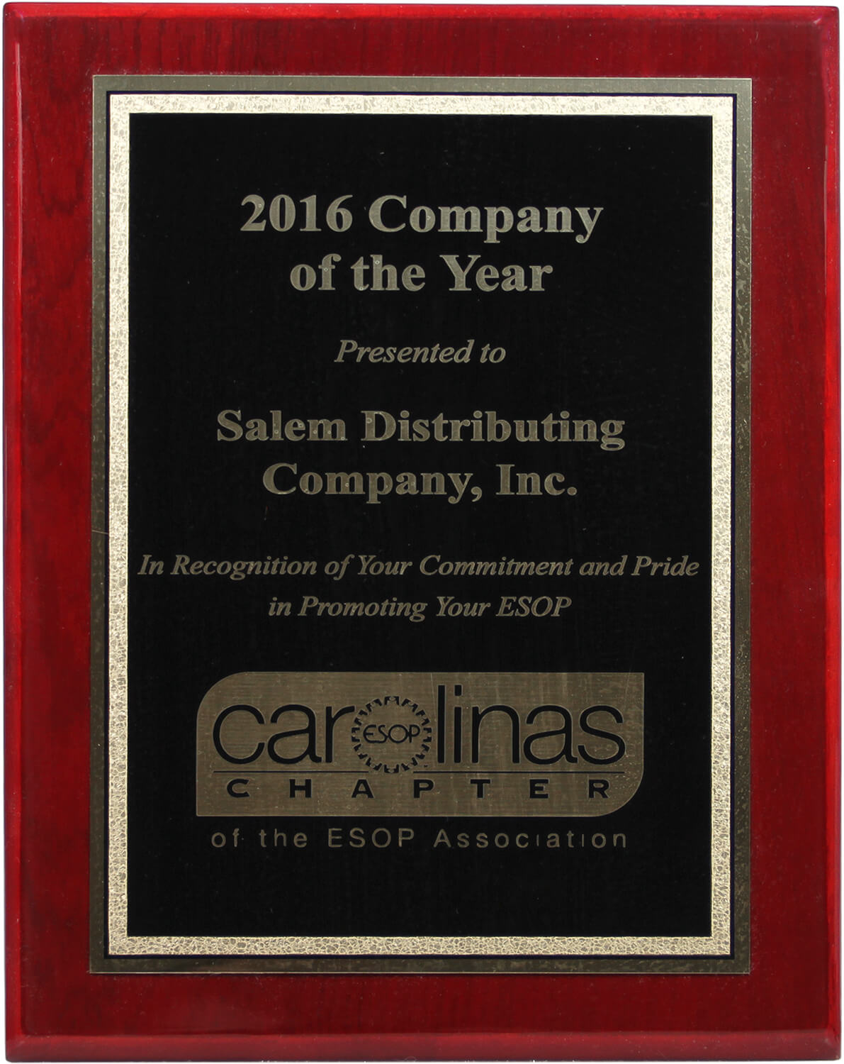 ESOP Company of the Year 2016